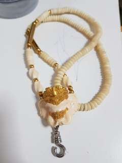 Elephant bone necklace