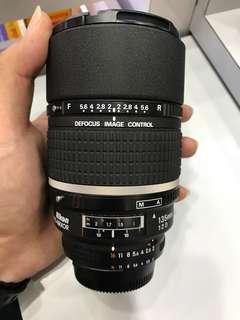 Nikon 135mm F2 AF DC LENS *NICE BOKEH , GOOD POTRAIT LENS*