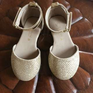 Zippy Gold Flats