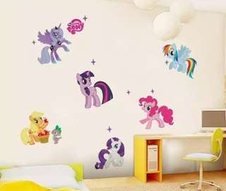 Pony & Avengers Wall Decals