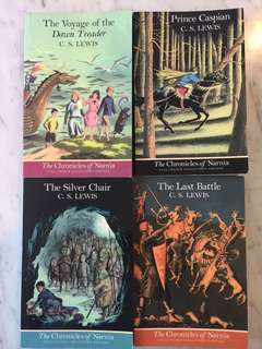 4 C. S. Lewis Children books