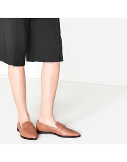 charles & Keith pointed loafers