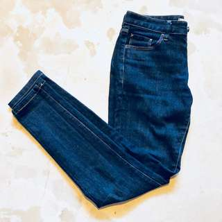 Middle-rise Straight Kaihara Jeans Blue Size 26(66cm)