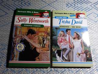 Harlequin Mills and Boon romance books