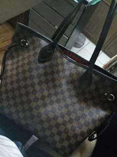 ORIGINAL HIGH QUALITY LV NEVERFULL DAMIER