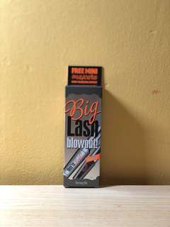 🚚 BNIB Benefit Big Lash Blowout Mascara