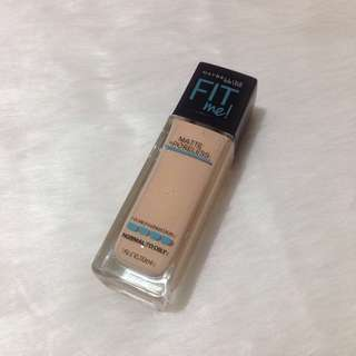 Maybelline Fit Me Matte + Poreless Liquid Foundation 120 Classic Ivory