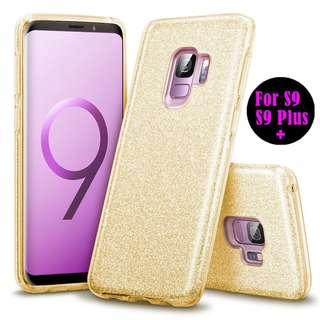 S9+ glitter case