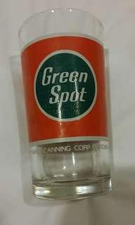 💖💖60,70年代綠寶汽水玻璃杯