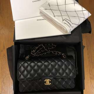 Chanel Caviar Medium Flap