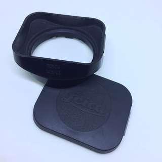 Leica 12524 hood n cap for 35mm summicron v4 boleh king
