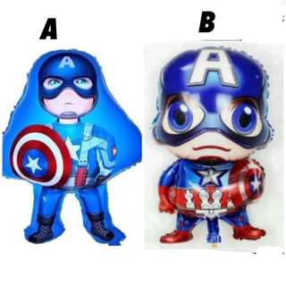 💥 Superheroes Avengers Captain America party supplies - balloon / party deco