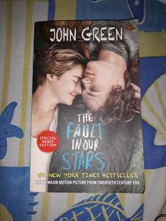 Buku The Fault in Our Stars (Salahkan Bintang-Bintang)
