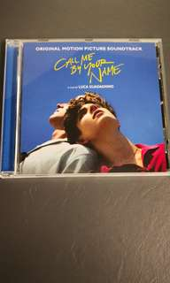 CALL ME BY YOUR NAME CD OST USED