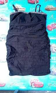 Dress hitam big size