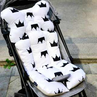 Baby Printed Stroller Pad Seat Warm Cushion Pad mattress