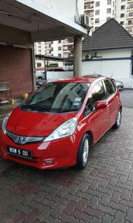 Honda Jazz Hybrid 2012 CBU