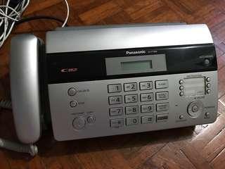 Panasonic 電話 連 Fax 機