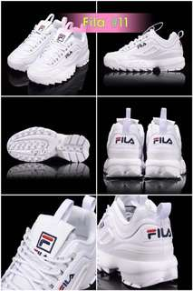 Fila Disruptor 2 extra new bought it from korea