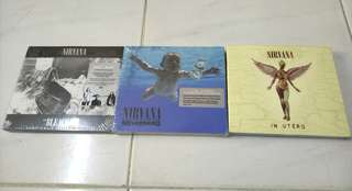 NIRVANA - 20TH ANNIVERSARY BEACH, NEVERMIND & IN UTERO SET