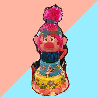 Trolls Cake Topper (made to order)