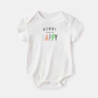 🚚 Mommy Makes Me Happy Romper/Bodysuit