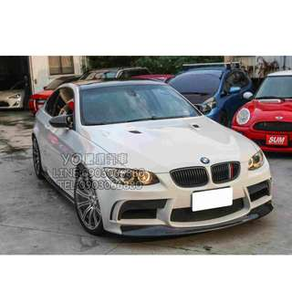 BMW E92 M3 白 低月付 全額貸 100%過件 0元交車 買車找現金唷 拖車戶/無薪轉勞保/八大/職業軍人 皆可辦理