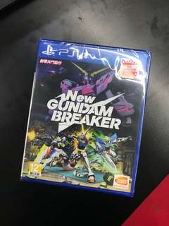 PS 4 New Gundam Breaker R3 (CHI) version New