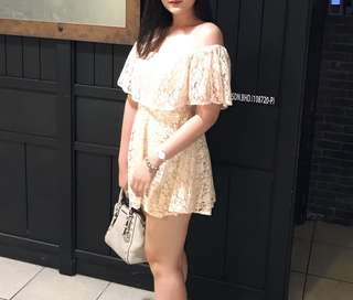 Baby-Doll Champagne Dress