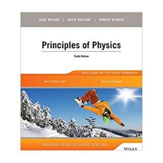 BN Principles of Physics by Walker Halliday Resnick