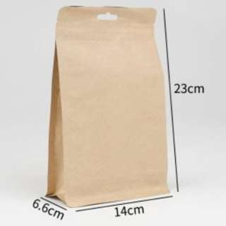 Air tight paper foil bags