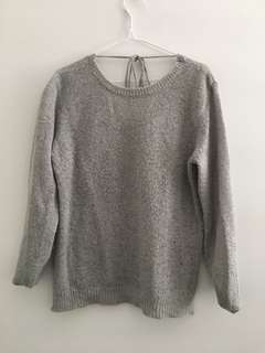 Tigermist grey knit S