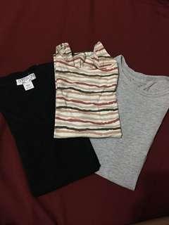Shirts (2), Longsleeves - BUNDLE