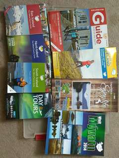 Iceland itinerary / info booklets