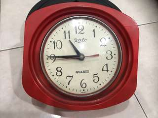 Vintage Kalo Japan Clock, Original Engine