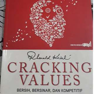 Buku Cracking Values by Rhenald Kasali #kanopixcarousell