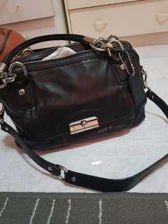 Coach Kristin Double Handle Zipper Handbag- Authentic