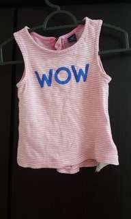 Gap girl sleeveless top