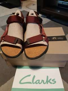 Clarks Sandal Maroon