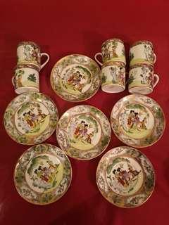 Handmade China Tea Cup n Plate
