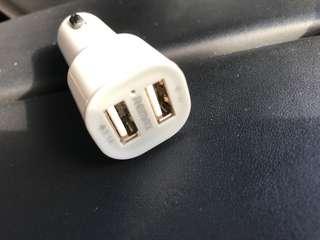 車用 充電 USB線 火咀