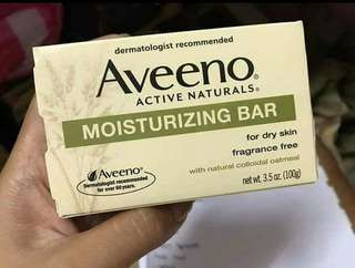 Aveeno Moisturizing Bar 100g