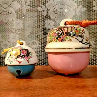 Japanese Porcelain Bells