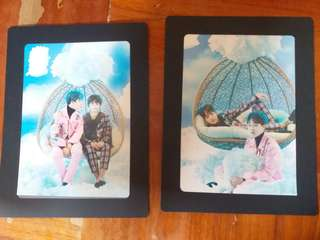 防彈少年團BTS the wings tour週邊 95photo frame