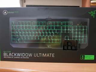 Razer Blackwidow Ultimate BNIB (Green Switch, Water Resistant)