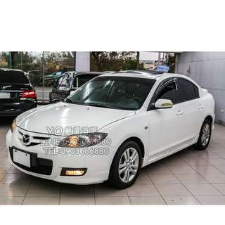 Mazda 3 低月付 全額貸 100%過件 0元交車 買車找現金唷 拖車戶/無薪轉勞保/八大/職業軍人 皆可辦理