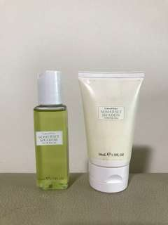 Crabtree & Evelyn Somerset Meadow bath & body lotion