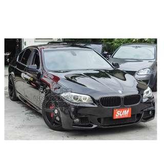 BMW F10 535i 雙出 黑 低月付 全額貸 100%過件 0元交車 買車找現金唷 拖車戶/無薪轉勞保/八大/職業軍人 皆可辦理