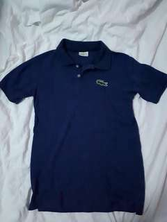 Navy Blue Lacoste Polo Shirt