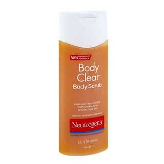 Neutrogena Clear Body Scrub
